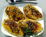 Orange-Rosemary Glazed Chicken