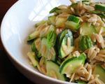 Orzo and Zucchini Salad