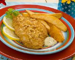 Oven Fried Trout