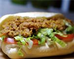 Oyster Po'Boy Sandwich