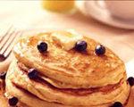Blueberry nut pancakes