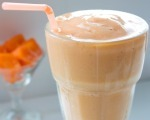 Papaya Peach Smoothie