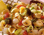 Pasta and Vegetables with Lemon and Basil