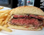 Pastrami-Cheese Burger