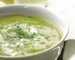 Rich and Easy Green Pea Soup