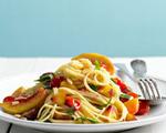 Peach and Tomato Pasta