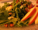 Pear, Pecan and Pomegranate Salad