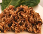 Rice With Pecans and Raisins