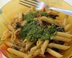 Penne with Pesto alla Trapanese