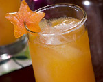 Persimmon Margarita Cocktail