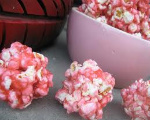 Pink Popcorn Balls