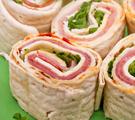 Basic Ham and Onion Pinwheels