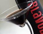 Pitch Black Martini