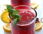 Pink Plum Lemonade