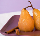 Classic Poached Pears