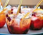 Pomegranate Punch Sparkler