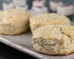 Poppy Seed Drop Scones