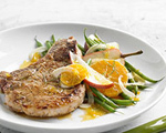 Pork Chops with Fennel Salad