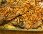 Pork Chops and Potato Casserole