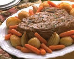 Oven Pot Roast and Gravy