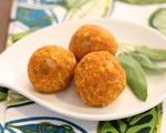 Pumpkin and Fresh Sage Balls