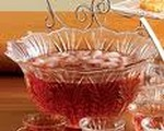 Festive Red Holiday Punch