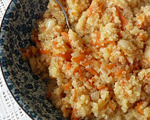 Quinoa Pilaf with Rutabaga and Celeriac