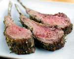 Rack of Lamb with Rosemary Pesto Sauce