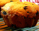 Raisin Lemon Muffins