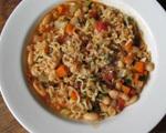 Ramen Noodle Fagioli