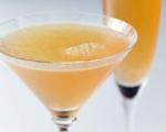 Raspberry Champagne Martini