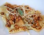 Ravioli with Hazelnut and Sage Pesto