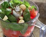Raw Tomato Bruschetta Dip