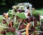 Island bean salad