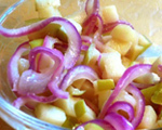 Red Onion and Apple Compote