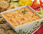 Red Piquillo Peppers and Crab Dip