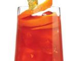 Red Pisco Fizz Cocktail