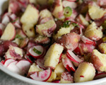 Red Potato, Scallion and Radish Salad