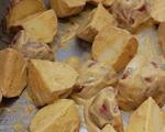 Red Potatoes Coated in Tandoori Sauce