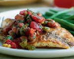 Red Snapper with Creamy Dill and Parmesan Sauce