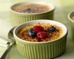 Mixed Berry Custard Brulee
