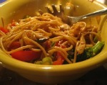 Quick Chicken Lo Mein