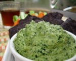 Creamy, Lower-fat Spinach Dip