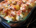 Cheesy Stuffed Pasta Shells