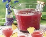 Strawberry Rhubarb Punch