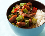 Rice and Beans with Okra and Kielbasa
