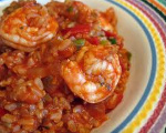 Rice and Shrimp Dish