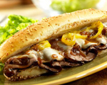 Roast Beef Hoagies with Melted Provolone
