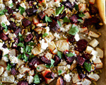 Roasted Root Vegetables with Feta and Pumpkin Seeds