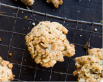 Rosemary walnut cookies